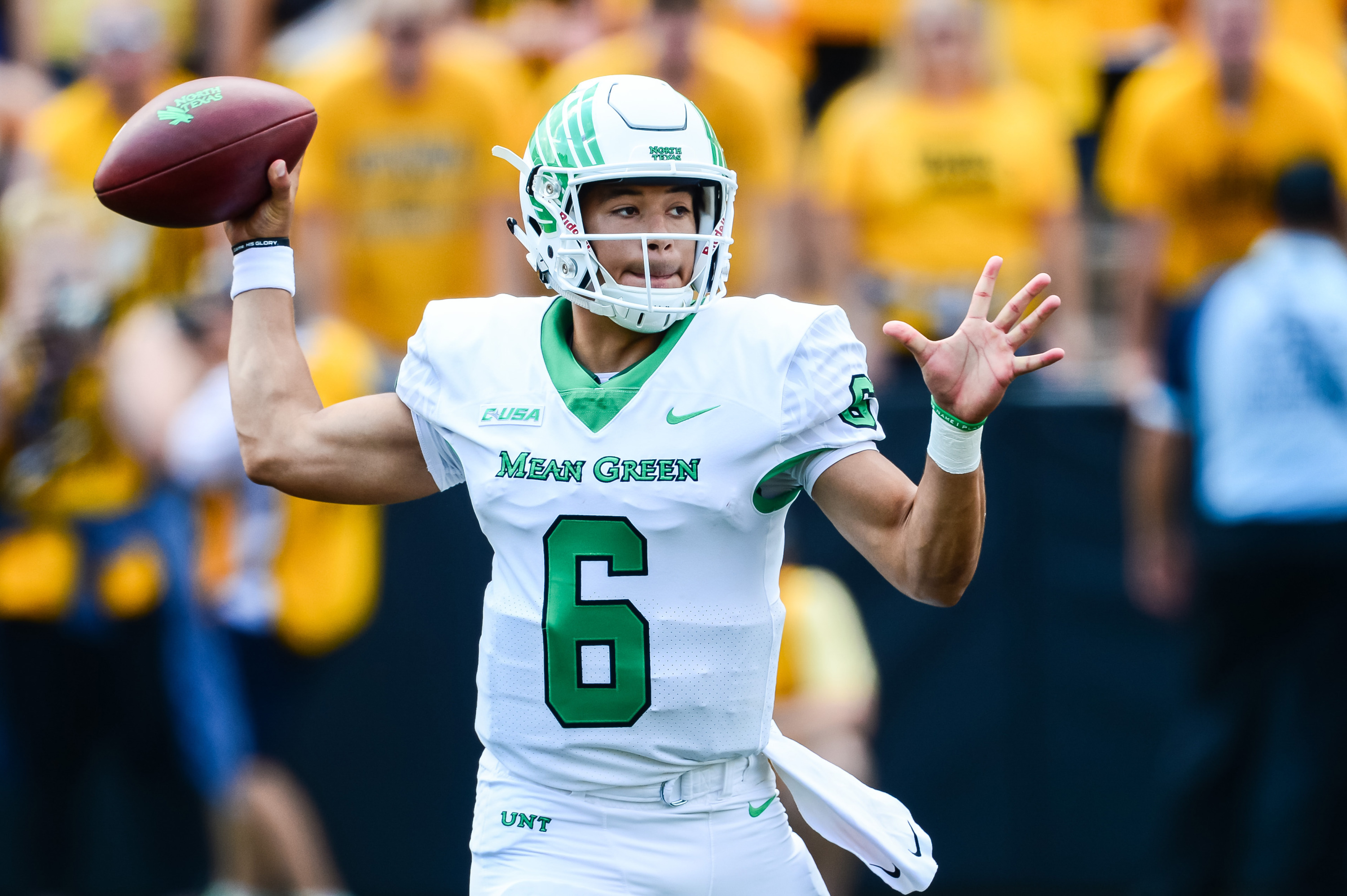 sale retailer 92a76 d27ed Mean Green Set For Spring Game Saturday - University of ...