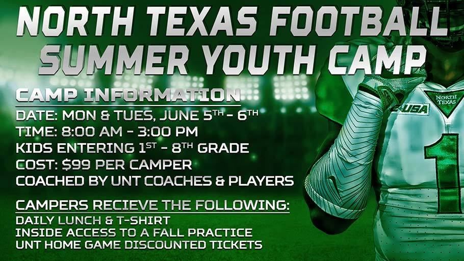Football Summer Youth Camp Scheduled For June 5 6 University Of