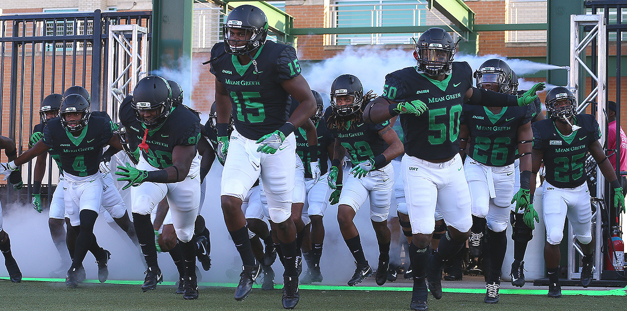 North Texas Releases 2018 Football Schedule University Of North