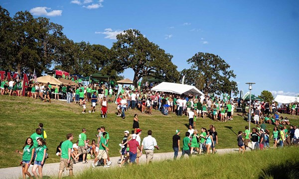 The Hill Tailgating Area - Facilities - University of North Texas Athletics