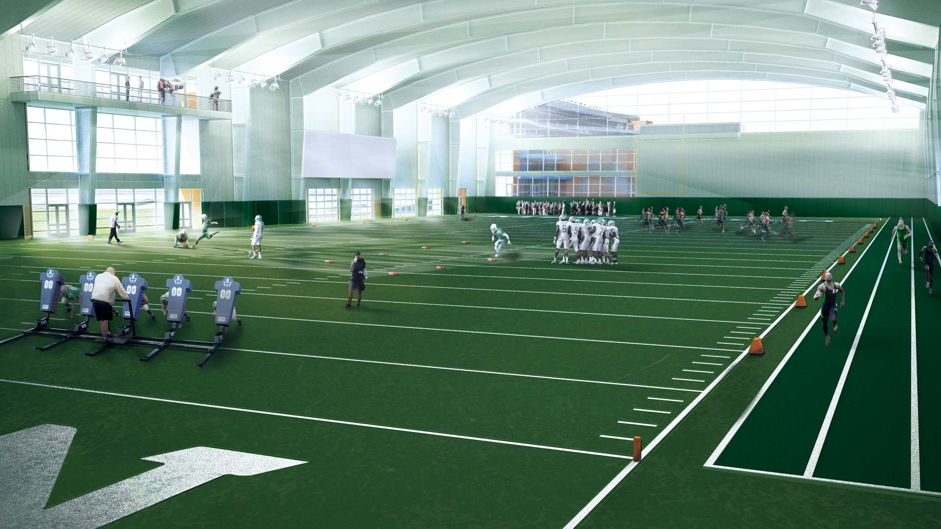 Indoor Practice Facility Named For Lovelaces, McNatts