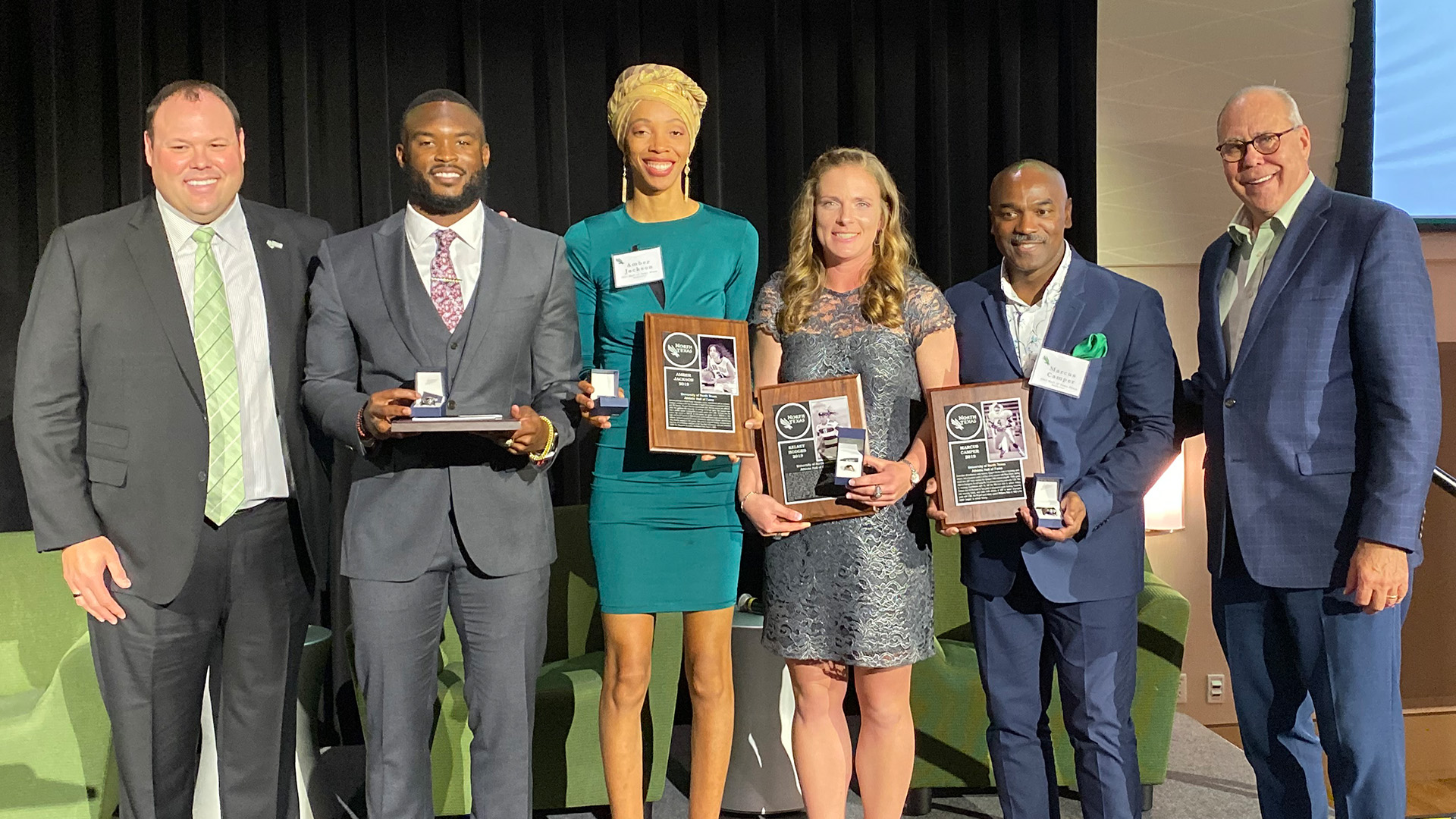 Eight Inducted into Mean Green Hall of Fame