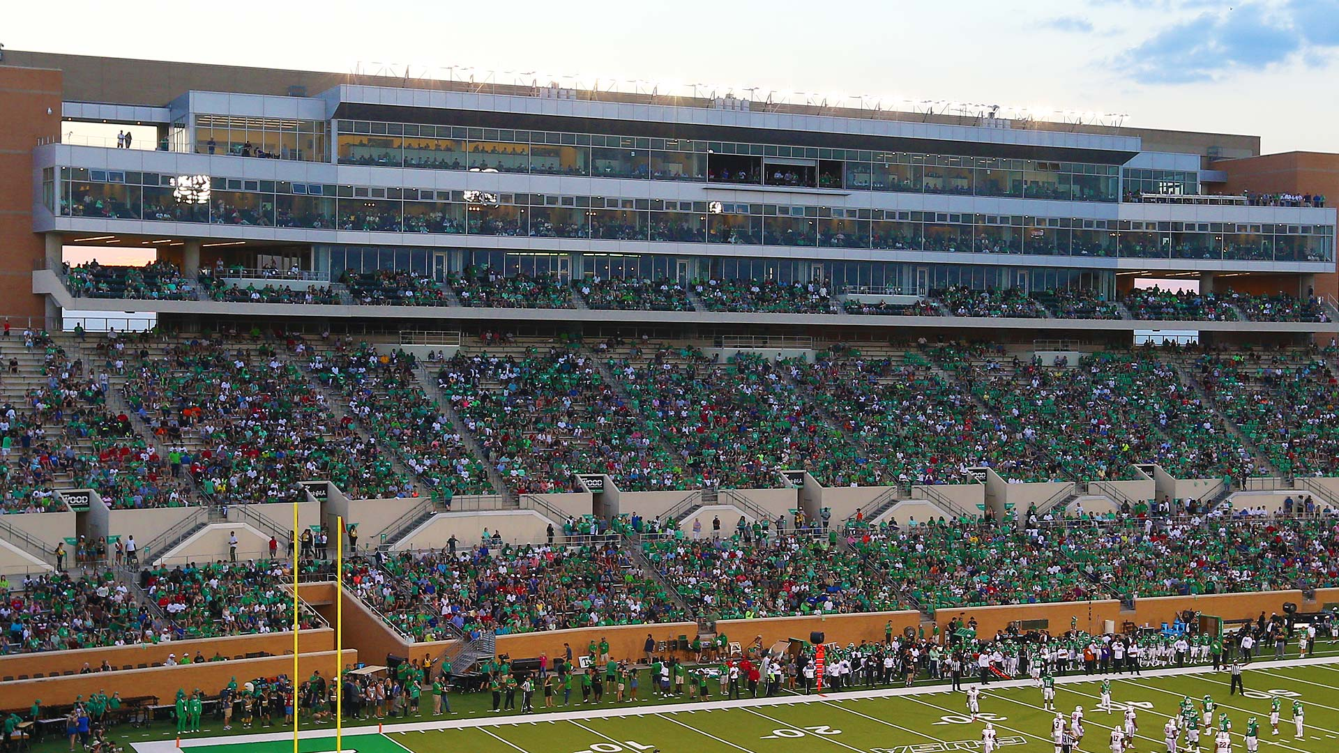 premium seats added to apogee s hub club university of north texas athletics seats added to apogee s hub club